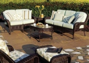 South Sea Rattan Key West Wicker Patio Furniture Set